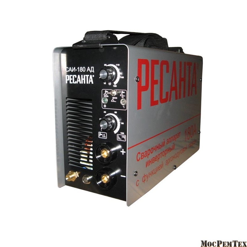 картинка Ресанта САИ-180 АД Сварочный аппарат для аргонодуговой (TIG) и ручной дуговой сварки (ММА)